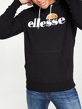 ellesse-gottero-overhead-hoodie-black