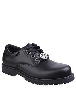 skechers-cottonwood-elks-lace-up-shoe-black