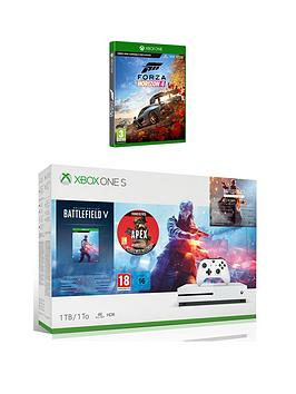microsoft-xbox-one-s-1tb-battlefield-v-deluxe-edition-amp-apex-legends-founders-pack-amp-forza-horizon-4