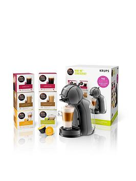 Nescafe Dolce Gusto Mini-Me&Reg; Automatic Coffee Machine By Krups&Reg; - Black And Grey