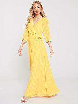 tommy-hilfiger-eva-maxi-wrap-dress-yellow