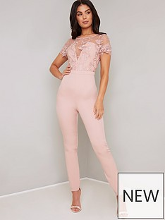 chi-chi-london-olive-jumpsuit-pink