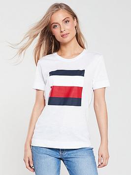 tommy-hilfiger-cathy-crew-neck-t-shirt-whitenbsp