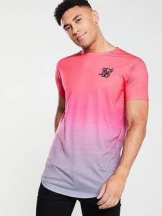 sik-silk-curved-hem-fade-t-shirt-pinkgrey