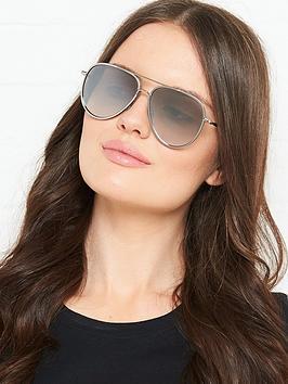 jimmy-choo-oversized-aviator-sunglasses-silver