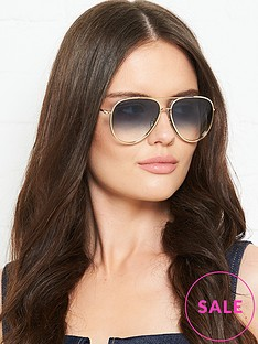 jimmy-choo-oversized-aviator-sunglassesnbsp-nbspgold