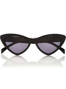 moschino-micro-cat-eye-diamante-sunglasses-black