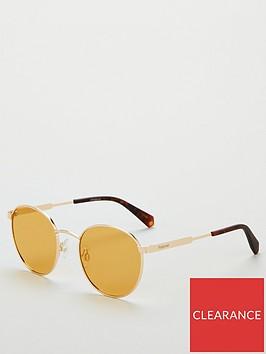 polaroid-round-sunglasses-orange