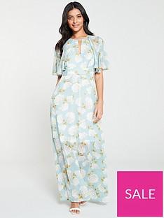 v-by-very-light-floral-print-kimono-maxi-dress-blue-floral