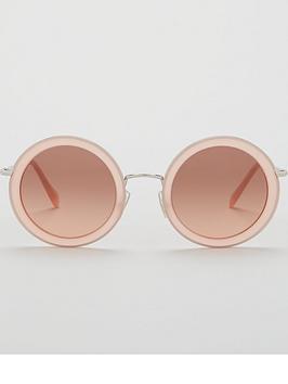 miu-miu-pink-round-sunglasses