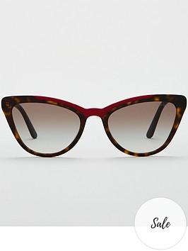 prada-blackred-cateye-sunglasses