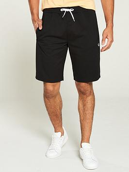 fred-perry-reverse-tricot-track-short-black
