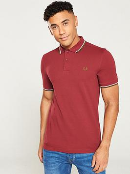 fred-perry-twin-tipped-polo-shirt-maroon