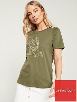 river-island-embroidered-t-shirt--khaki
