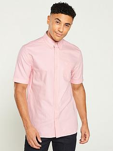 fred-perry-classic-oxford-shirt-coral-blush