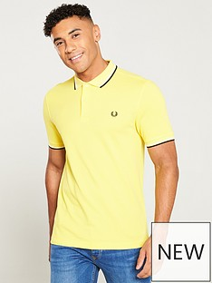 fred-perry-twin-tipped-polo-shirt-electric-yellow