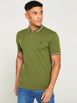 fred-perry-twin-tipped-polo-shirt-cypress-green