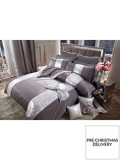 by-caprice-silver-bow-duvet-cover