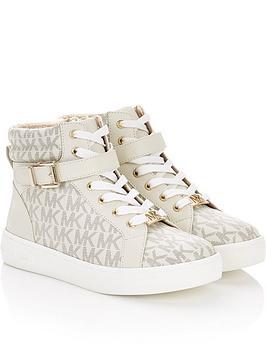 michael-kors-girls-abigailnbsphightop-buckle-trainers-cream