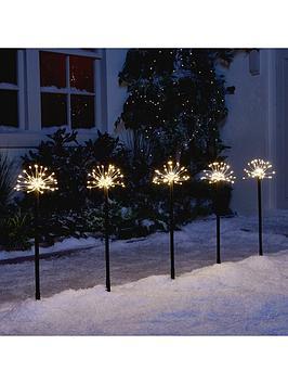 set-of-5-copper-wire-starburst-pathfinders