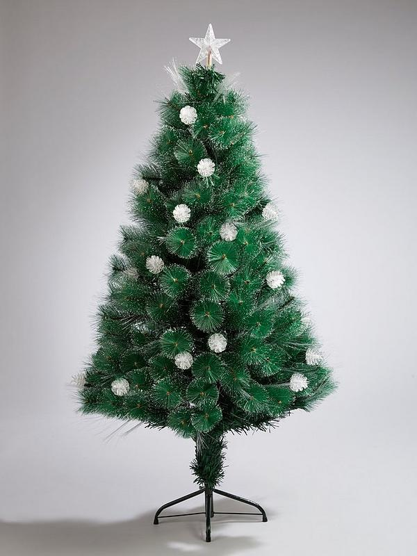 Fiber Optic Christmas Trees.Colour Changing And Space Saving Needle Pine Fibre Optic Christmas Tree 5ft