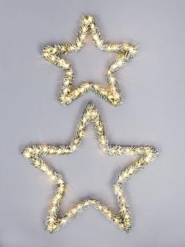 lit-star-wall-christmas-decorations-set-of-2