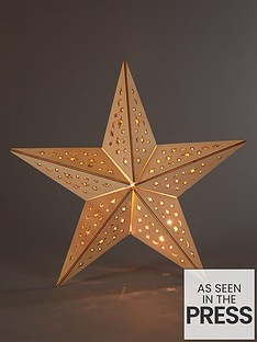 wooden-star-light-hanging-christmas-decoration