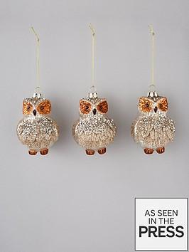 glass-owl-tree-decorations-set-of-3
