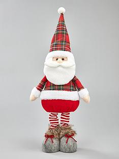 tartan-standing-santa-christmas-decoration