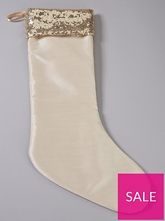 gold-faux-silk-and-sequin-christmas-stocking
