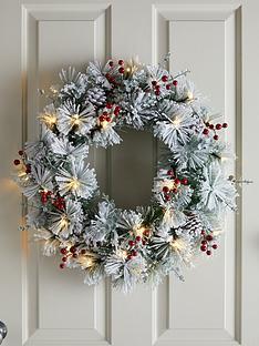 bavarian-pre-lit-christmas-wreath