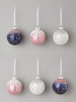 set-of-6-midnight-rose-glass-christmas-tree-baubles