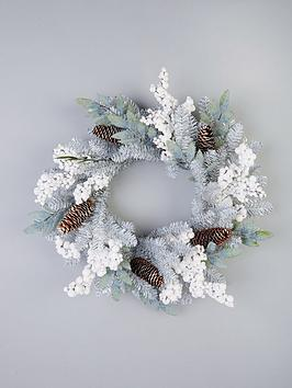 silver-grey-and-white-berry-door-wreath-ndash-60-cm
