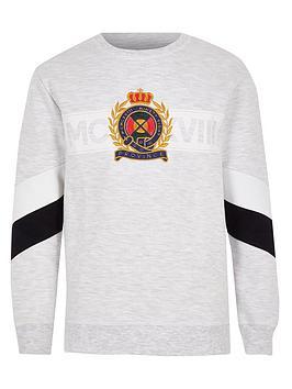river-island-boys-panel-sweatshirt-grey-marl