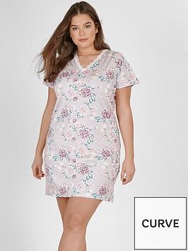 evans-rose-floral-nightdress