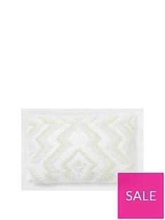 river-island-white-zigzag-beaded-cushion