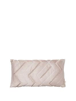 river-island-pink-pleated-cushion