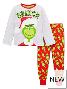 the-grinch-boys-christmas-pyjamas-redgreen