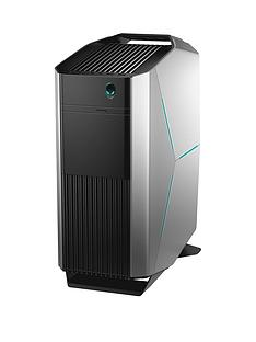Alienware Aurora R8, Intel® Core™ i7-8700, 6GB NVIDIA GeForce GTX 1060 Graphics, 16GB DDR4 RAM, 1TB HDD & 128GB SSD, Gaming PC - Silver