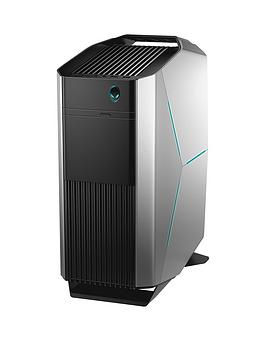 Alienware Aurora R8, Intel&Reg; Core&Trade; I7-8700, 6Gb Nvidia Geforce Gtx 1060 Graphics, 16Gb Ddr4 Ram, 1Tb Hdd &Amp; 128Gb Ssd, Gaming Pc - Silver