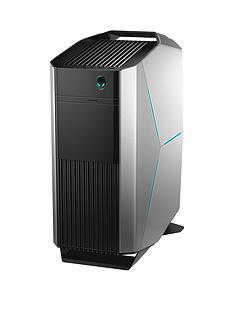 Alienware Aurora Intel Core i7,16GB RAM,2TB Hard Drive & 256GB SSD, Nvidia 8GBRTX 2070 Graphics, PC Gaming Desktop Base Unit -Epic Silver