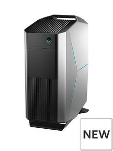alienware-aurora-intel-core-i7nbsp16gb-ramnbsp2tb-hard-drive-amp-256gb-ssd-nvidia-8gbnbsprtx-2070-graphics-pc-gaming-desktop-base-unit--nbspepic-silver