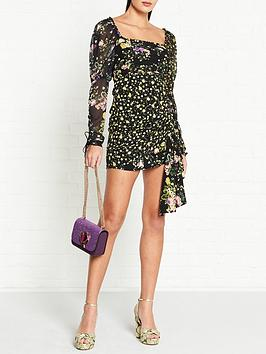 for-love-lemons-eileen-floral-print-mini-dress-black