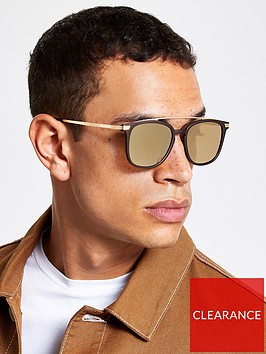 river-island-bronze-navigator-sunglasses