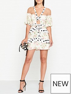 for-love-lemons-butterscotch-tiered-floral-and-polka-dot-mini-dress-cream