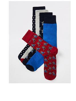river-island-novelty-dogs-5pp-socks