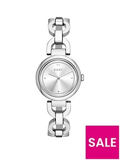dkny-dkny-silver-sunray-dial-stainless-steel-chain-link-bracelet-ladies-watch