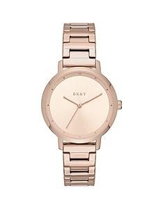 dkny-dkny-rose-gold-sunray-dial-rose-gold-stainless-steel-bracelet-ladies-watch
