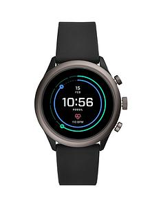 fossil-fossil-full-colour-display-black-smoke-aluminium-43mm-dial-black-silicone-strap-smart-watch