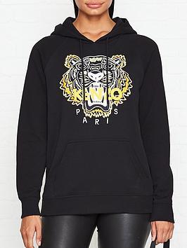 kenzo-classic-tiger-hoodie-black